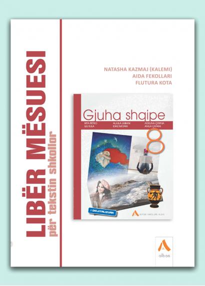 Libër mësuesi për tekstin shkollor Gjuha Shqipe 8